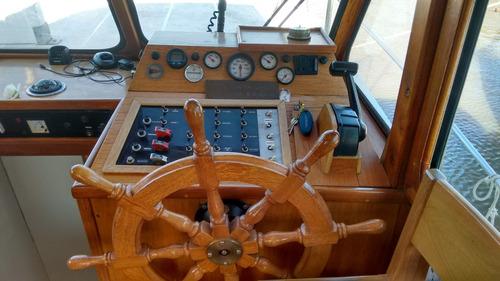 barco trawler de acero naval del astillero san pedro!!!