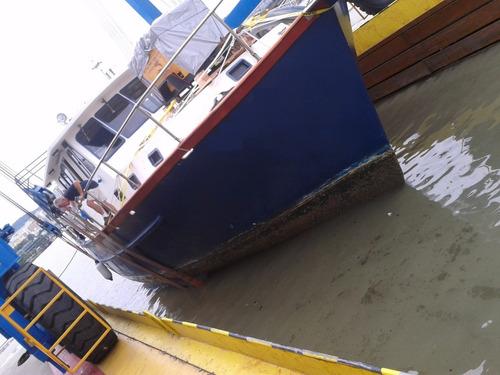 barco trawler em cimento 50 pés 1997