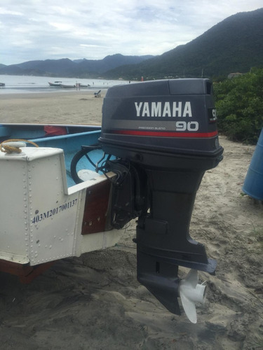 barco ubirajara aluminio 16 com motor yamanha 90hp