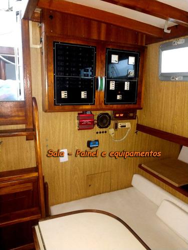 barco veleiro bruce roberts - 40 pés - madeira epoxi