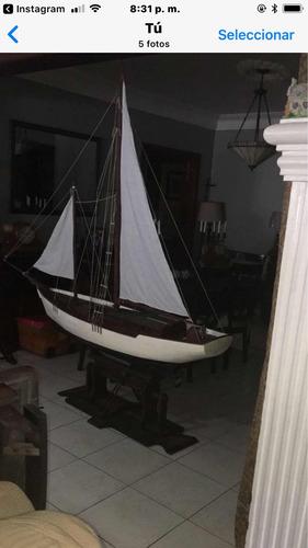 barco velero de lujo grande 8 pies de largo