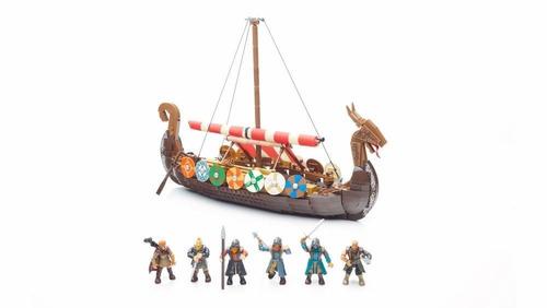barco vikingo probuider, mattel fph88