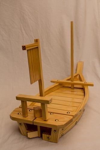 barcos para sushi. 70 cm. unicos. para fanaticos
