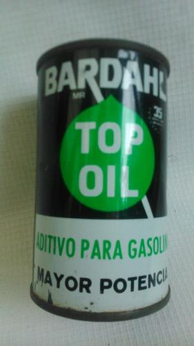 bardhal top oil retro vintage aditivo gasolina antiguo