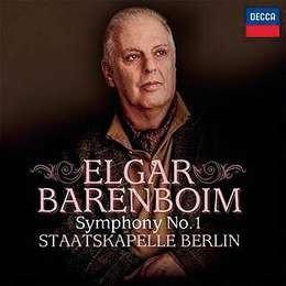 barenboim daniel elgar symphony no 1 cd nuevo