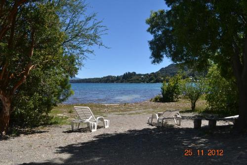 bariloche casa con costa y playa de lago nahuel huapi