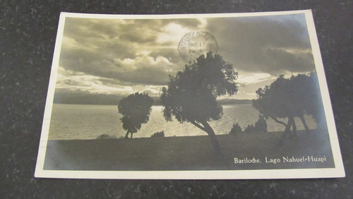 bariloche - postal lago nahuel huapi circulada