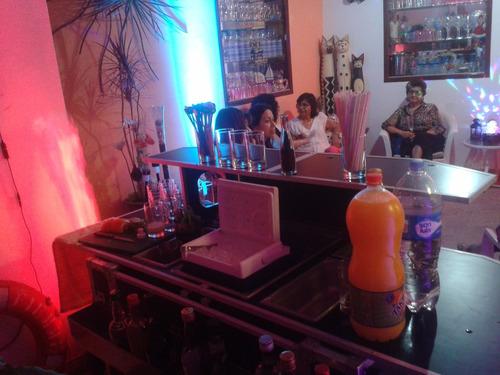 barman a domicilio,bartender,mozos,open bar,sonido,dj.