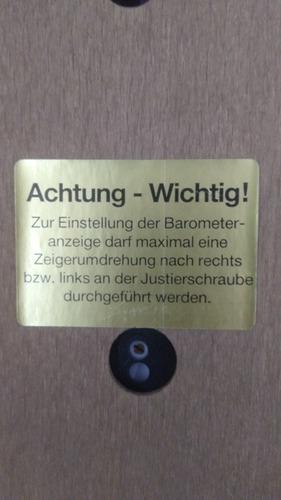 barômetro higrômetro termômetro importado alemão frete gráti