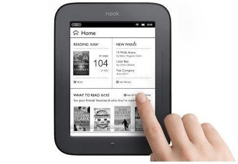 barnes & noble nook simple touch 2gb 6  lector libros