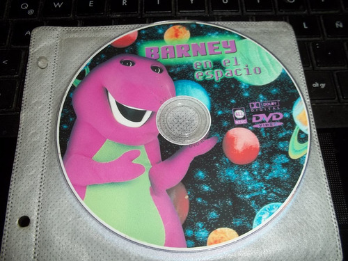 barney en el espacio dvd original