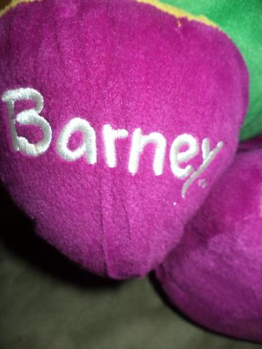 barney grande habla en ingles 60 cm,