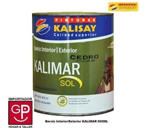 barnis int/ext kalimar de kalisay con filtro solar 900ml g p