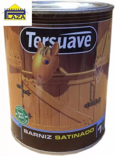 barniz satinado tersuave 1 litro madera interior protector