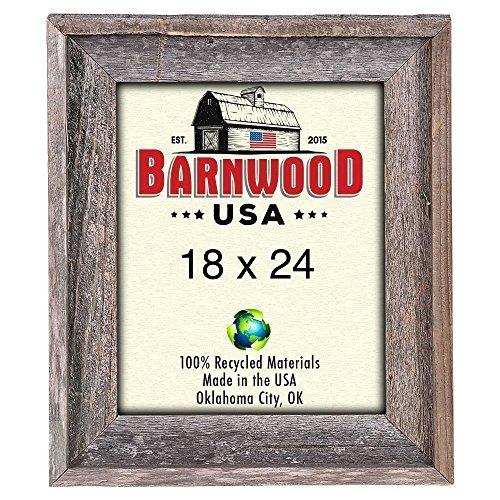 Barnwoodusa Rustic - Marco De Foto Signature De 18x24 Pulga ...