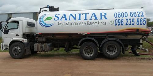 barometrica desobstrucciones desagotes mantenimiento sanitar