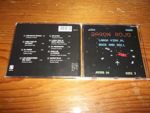 baron rojo - larga vida al rock and roll cd imp 1991 mdisk