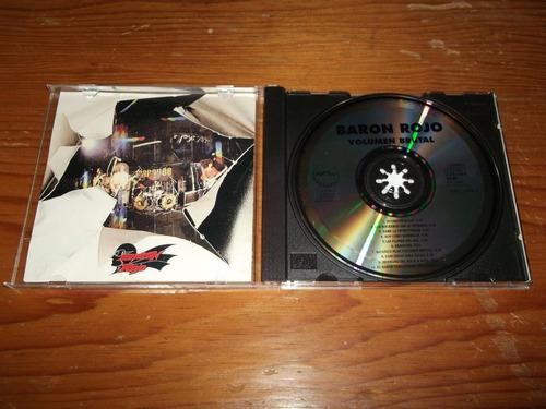 baron rojo - volumen brutal cd español mdisk