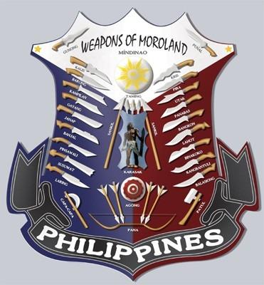 barong tipo filipino para entrenamiento - en aluminio macizo
