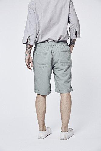 oficial de ventas calientes venta de descuento seleccione para auténtico Baronhong Pantalones Cortos De Lino Relax-fit Para Hombre Co