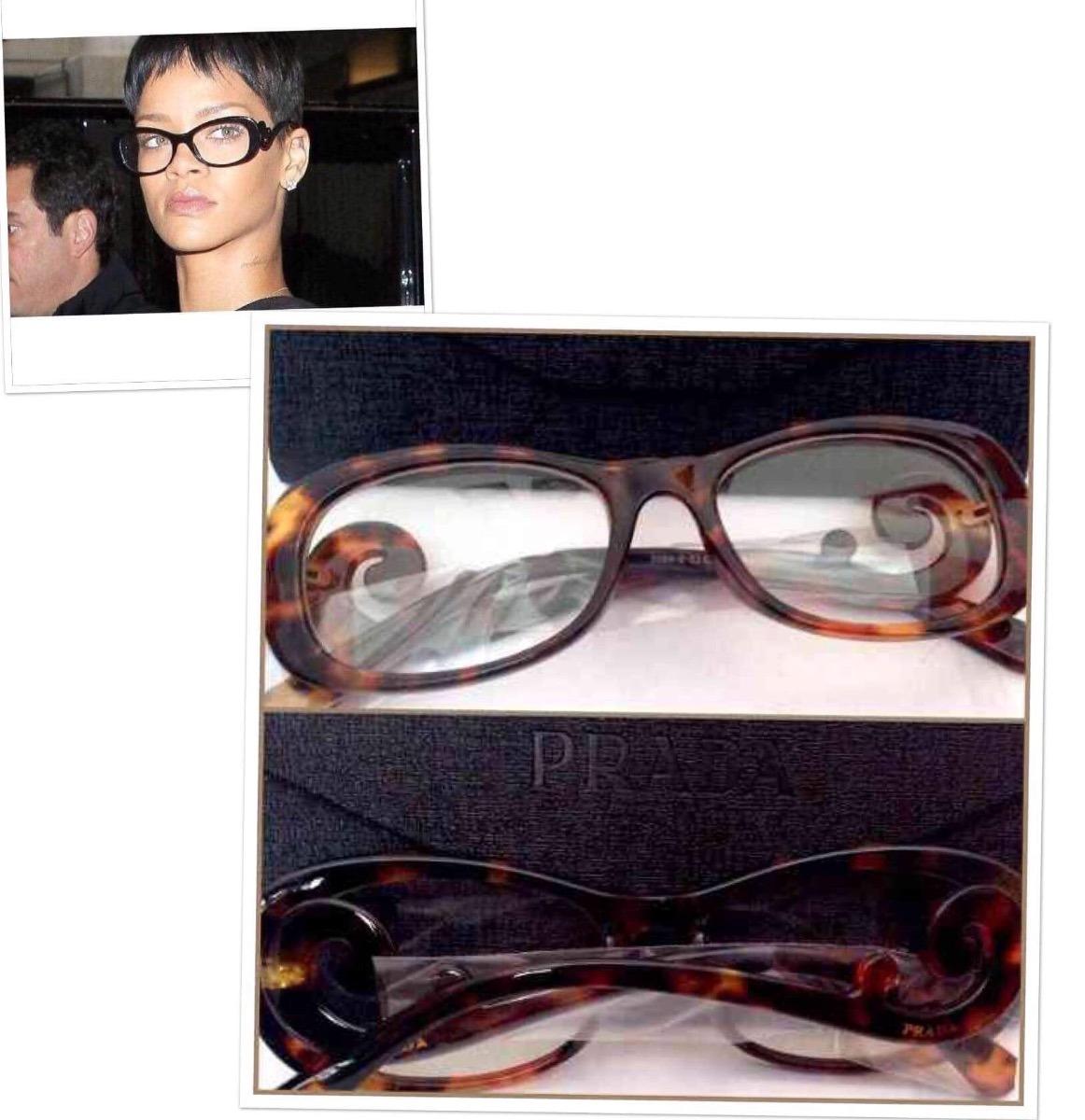 Baroque Feminino Óculos By Rihanna Tartaruga + Estojo - R  99,00 em Mercado  Livre 0a90dca1f6