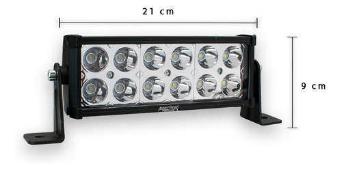 barra 12 led - 19cm faro suv pickup jeep 4x4 / fa-lh12