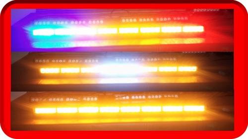barra 8 modulos estrobo hiperled 1w 92cm