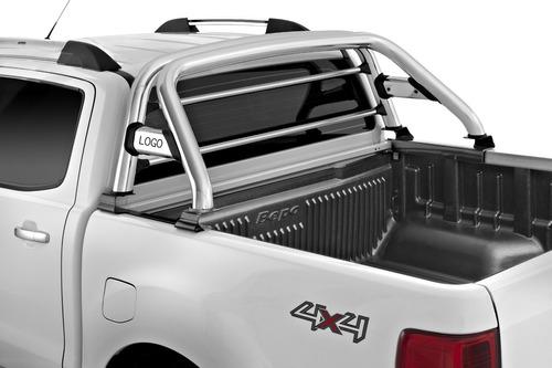 barra antivuelco cromada elegance bepo p/ ford ranger 2013+