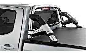 barra antivuelco ford ranger cromo 2000 / 2012 c / reja k3