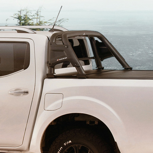 barra antivuelco negra ford ranger 2000 / 2012 c/ reja k1