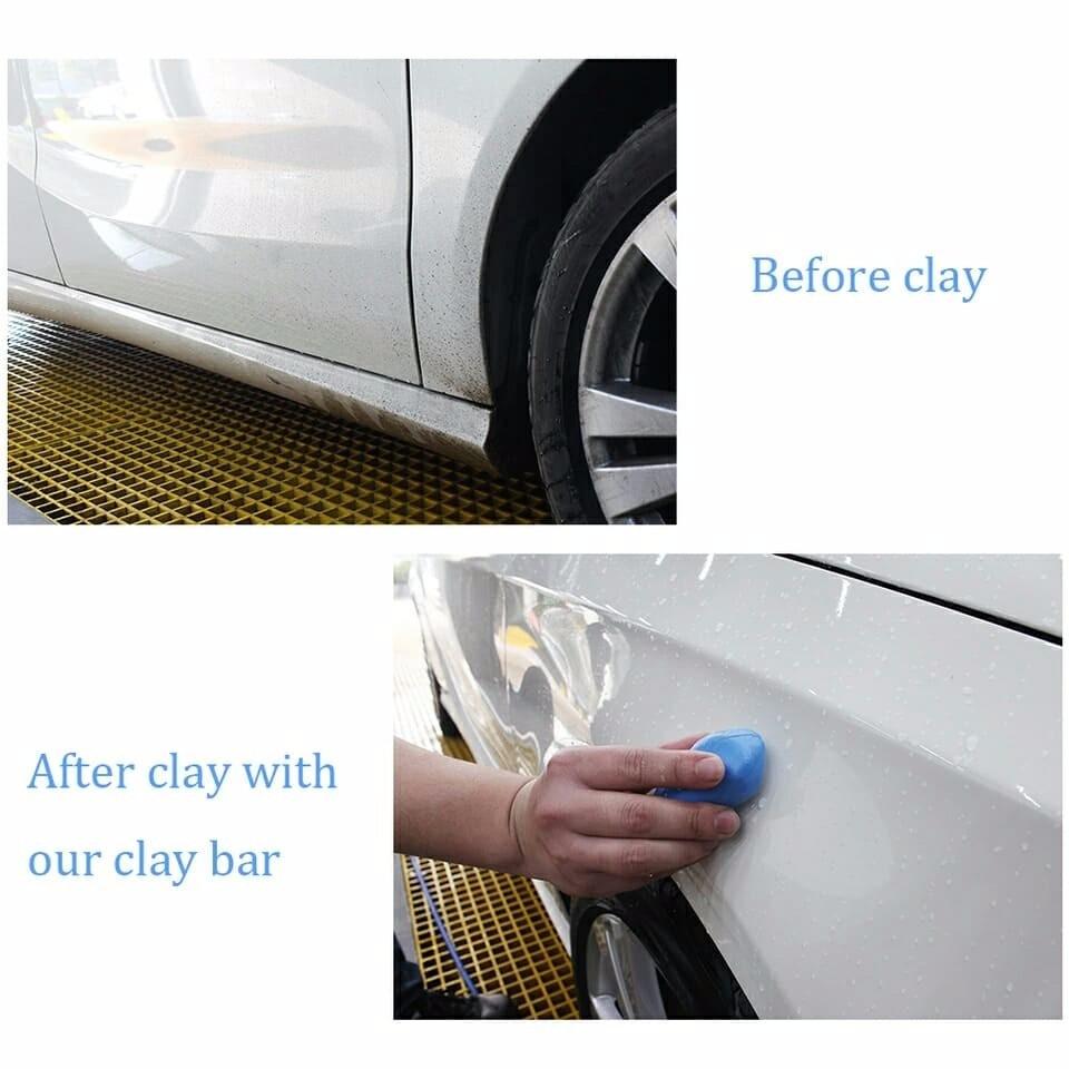 defe11ddca2f5 barra argila clay bar 180g descontaminação pintura (c frete). Carregando  zoom.