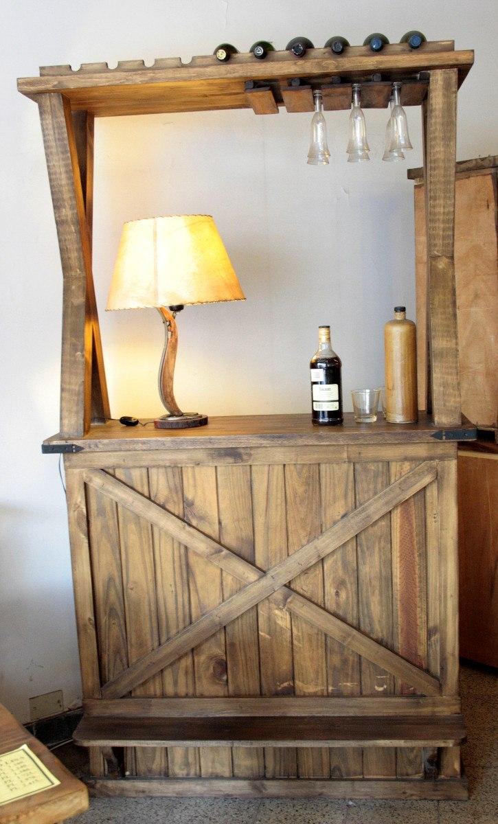 Rusticas para bares awesome cocinas rusticas diseno barra for Bar de madera estilo campo