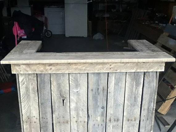 Barras de bar de madera top elegant living comedor cosas - Barras de madera para bar ...
