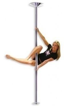 barra caño pro pole dance fitness portatil fijo giratorio