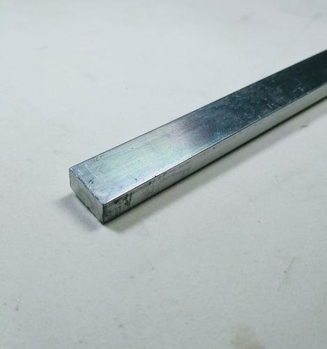 barra chata aluminio 5/8 x 1/4 (1,58cm x 6,35mm) c/ 99cm