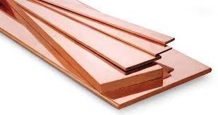 barra chata de cobre eletrolítico 3/8 x 1/8 1 mt 73a