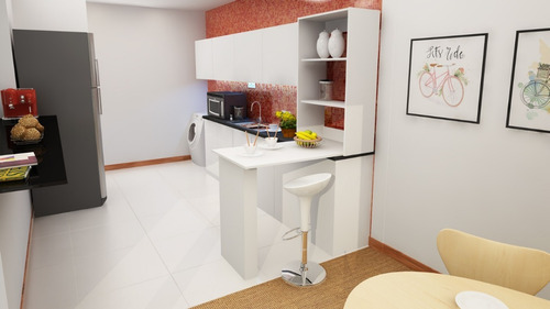 barra cocina plegable desayunadores escritorio flotante+