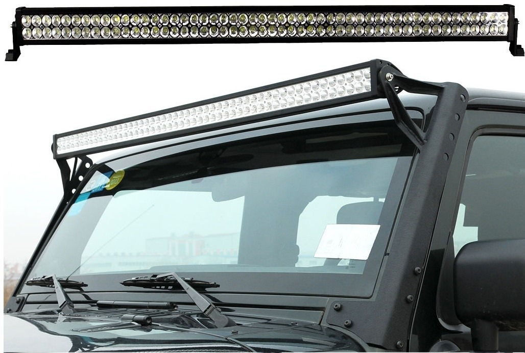 Barra con luces led para techo jeep wrangler 2007 2013 - Luces led para techo ...