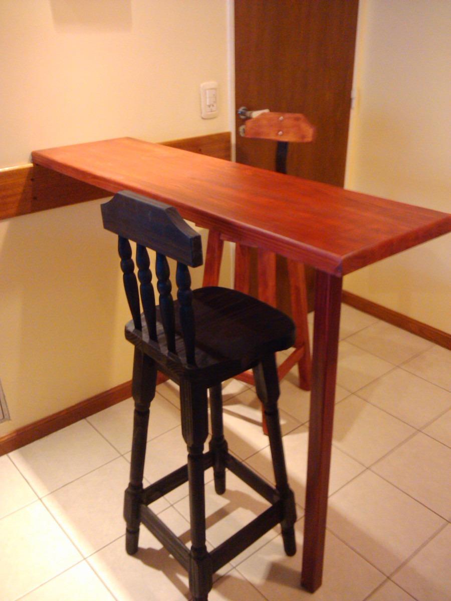 Barra con pata mesada de madera para cocina desayunador 300000 cocina desayunador cargando zoom altavistaventures Image collections