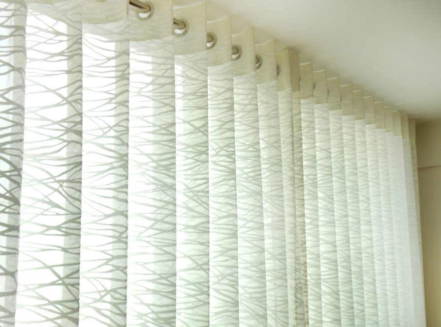 barra de acero para cortinas casa