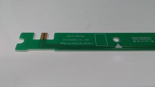 barra de alimentação led's tv lg 42la6130 original