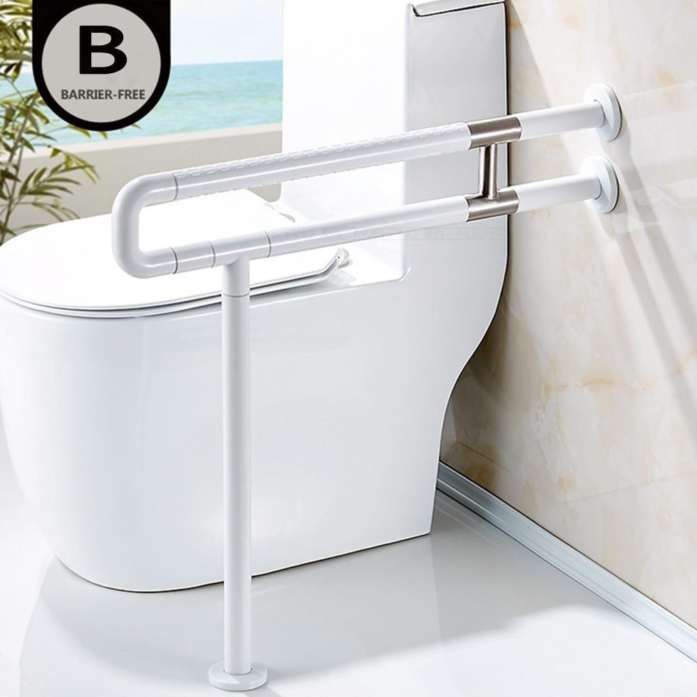 Barra de apoyo para ba o barra de ducha para inodoro barr for Barra para ducha