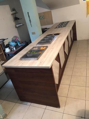 barra de cocina para bar o negocio