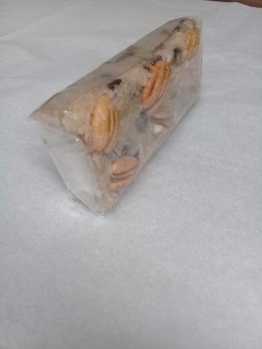 barra de coco con pasas y nuez dulceria marthel parras