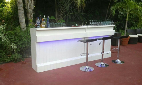 barra de cocteles led.