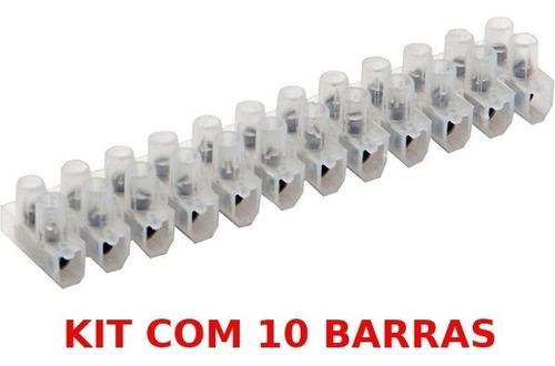 barra de conector 10mm brasfort kit 10 barras