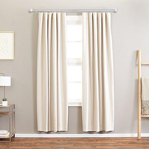 barra de cortina cortinero en plata con cristal acrílico