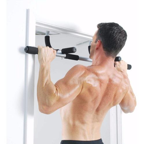 barra de ejercicios gimnasio para puerta iron gym p90x