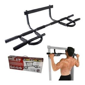 Barra De Ejercicios Iron Gym - Bíceps, Tríceps, Pectorales