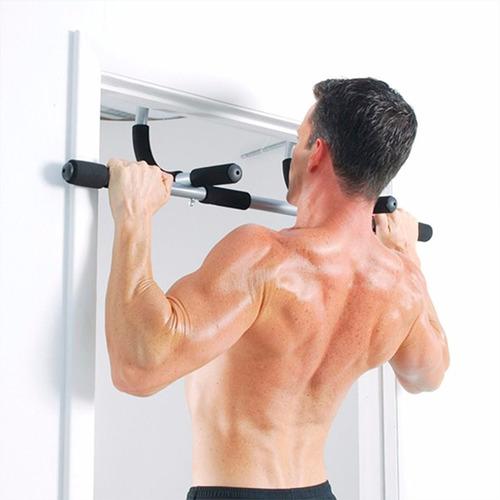 barra de ejercicios marco puerta dominadas flexiones